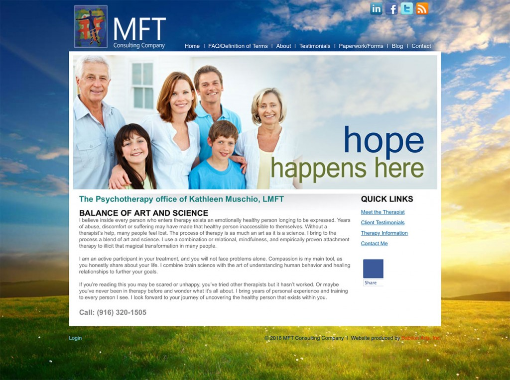 MFT-Website